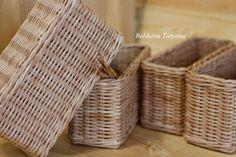 Hand Woven Storage Basket Kitchen Basket Wicker Basket Toys