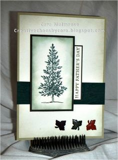 Splitcoaststampers FOOGallery - FIL #1 Fathers Day '14 lovely as a tree card