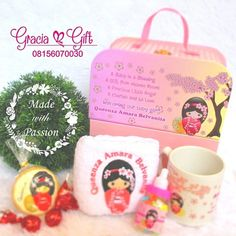 """HAMPERS MANYUE BANDUNG di Instagram """"Cute pinky japanese doll hampers for welcoming baby born . Specialized in 🎁Gift and Hampers for any occasion  For future information wa…"""" Japanese Doll, Baby Born, Welcome Baby, Hampers, Our Baby, Dolls, Future, Gifts, Instagram"""