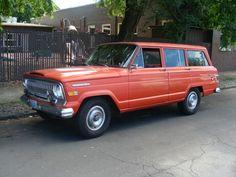 """Jeep Wagoneer in """"dipset"""" orange"""