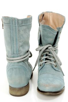 bottes bleu