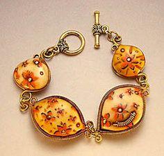 Desiree's Polymer Clay Gallery #5 - Bracelets