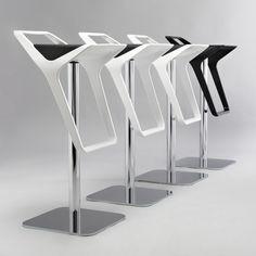 high chair / plastic / metal / reverse