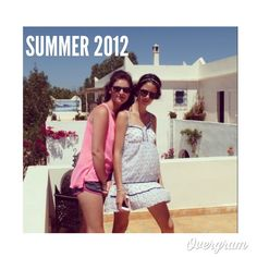 This is one of my favourite pics from my holidays in Morocco last summer, here I'm with my lovely sister (21yo) and I wore a white Vero Moda dress, a top shop headband and a pair of HM sunglasses