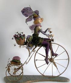 Pretty lady! - art doll