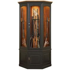 Woodworking plans wood gun cabinets plans free download wood gun amish corner gun safe cabinet 1600 liked on polyvore featuring home furniture planetlyrics Choice Image