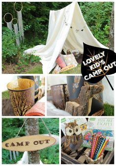 Summer Dreaming Kid's Camp Out