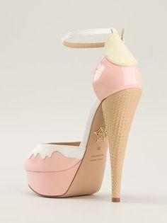 Charlotte Olympia 'ice Cream' Sandals - Profile - Farfetch.com