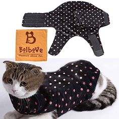 Pet Adjustable Anti-Anxiety Wrap & Calming Coat for Small Dogs & Cats Stress Fear Relief Training Winter Wear (Black, Medium) Bolbove http://www.amazon.com/dp/B01479IQMS/ref=cm_sw_r_pi_dp_LtZ4wb075GB9C