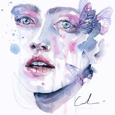 """What She Saw,"" Agnes Cecile"