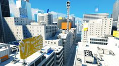 The unnamed city from Mirror's Edge