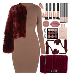 """""""burgundy dreams"""" by jooseefiinee ❤ liked on Polyvore featuring Rebecca Minkoff, Steve Madden, Gucci, Lime Crime, Velour Lashes, Illamasqua and Calvin Klein 205W39NYC"""