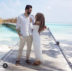 Cute Muslim Couples, Romantic Couples, Cute Couples, Muslim Fashion, Modest Fashion, Hijab Fashion, Matching Couple Outfits, Matching Couples, Muslim Wedding Ceremony