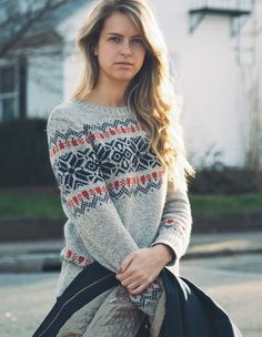 Alpine Style: winter sweater