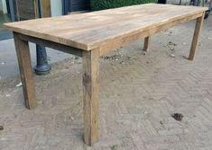 Rustiek eiken tafels op maat | DT-69