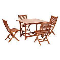 Das Balkon Set Minoa Ist Eine Schöne Sammlung Von Holz Gartenmöbeln. Das Set