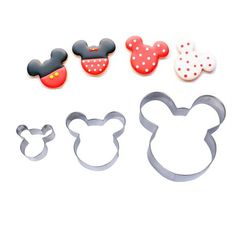 3pcs Mouse Cookie Cutter Fast Shipping Stainless Steel Cut Biscuit Mold Cooking Tools Set Vegetable Chopper Kitchen Accessories