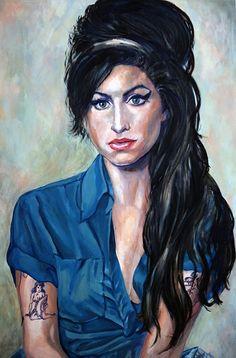 amy-winehouse-portrait-miche-watkins.jpg 593×900 pixels