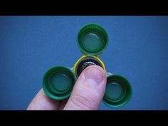 How to make - Fidget Spinner hands - Fidget toys - YouTube