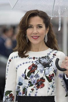 'She is very active and a very professional representative for the royal family,' Lars Hovbekke Sorensen said (pictured: Princess Mary)
