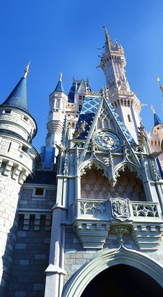 Cinderella's Castle, Magic Kingdom, Disney World. Morning to high noon. Taken by me :)