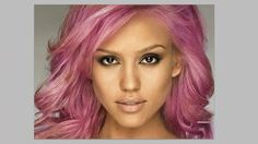 This video helps you change your hair color or anybodies hair color on a picture.