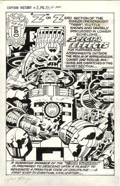 God Squad by Jack Kirby