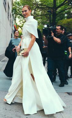 Karlie Kloss at the 2016 Met Gala.