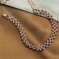 Jackie Kennedy Inspired Tennis Bracelet