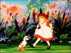 Gute alte Kinderserien - Intro -Alice im Wunderland (german)