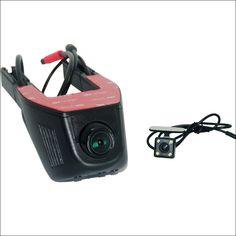 For KIA Cerato k3 APP Control Car Wifi DVR Dual lens wide angle Dash Cam Car Black Box Hidden installation Novatek 96658 1080p