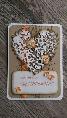 Glückwünsche - Karte,Jugendweihe,Glückwunsch,Geburtstag,Hochzeit, - ein Designerstück von Mein-Kreativpoint bei DaWanda