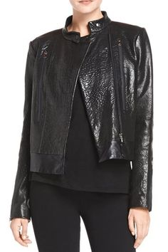 Leather Motorcycle Jacket. Love it!
