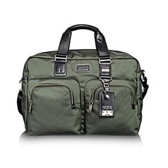 TUMI Alpha Bravo Everett Essential Tote - Spruce Green - replacing my carry on
