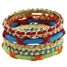 Rainbown version bangle stackable