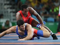 Aug 20, 2016; Rio de J'den Michael Tbory Cox of the