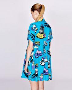 Lazy Oaf Space Thru Dress