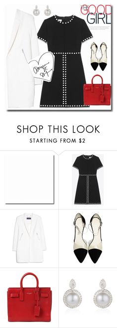 """""""Good girl"""" by gul07 ❤ liked on Polyvore featuring Yves Saint Laurent, MANGO and Chanel"""
