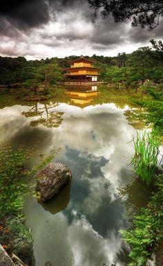 金閣寺 京都 #Kinkakuji #Kyoto, Japan