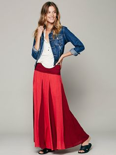 Free People Peaced Out Maxi Skirt, $89.95