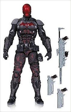 Red hood - #batman arkham knight - 6-inch action #figure dc direct dc #comics, View more on the LINK: http://www.zeppy.io/product/gb/2/291852059519/