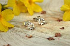 Silver Flower Stud Earrings £20.00