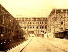 Haydarpaşa garı inşa ediliyor (1906 ile 1908 arası)