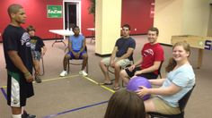 Youth Group Games - Deathball      I had no clue what it was but iknew that it was something we need to play