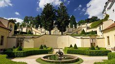 Czech Republic - Palace Gardens in Prague Beautiful Park, Most Beautiful Cities, Baroque, Palace Garden, Prague Castle, Places In Europe, Formal Gardens, Garden Features, Central Europe