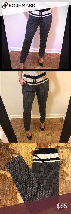Silk Jogger Pants Sleek, light weight silk joggers by VINCE. Super comfy and versatile. Wear to the office with a black silk cami and blazer or for a casual weekend look with white converse and a tee.. Vince Pants Track Pants & Joggers