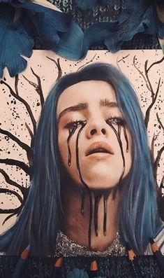 Believe phone wallpaper – Believe phone … – Famous Last Words Billie Eilish, Amazing Drawings, Cool Drawings, Wallpaper World, Blue Drawings, Videos Instagram, Polychromos, Dope Art, Celebs