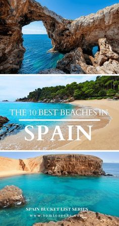 Spain Bucket List: 10 Beaches in Spain You Should Visit Before You Die Spain has no shortage of beautiful beaches, but which ones are bucket list goals? Here are the 10 best beaches in Spain you should visit before you die. Europe Destinations, Europe Travel Tips, Holiday Destinations, Travel Guides, Travel Hacks, Travel Destinations Beach, Europe Beaches, Budget Travel, Destin Beach