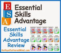 Essential Skills Advantage Review from @Kathys Cluttered Mind :)