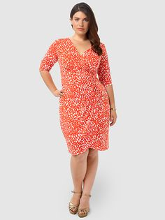 V-Neck Side Ruched Sheath Dress by London Times,Available in sizes 10/12,14W/16W,18W/20W and 22W